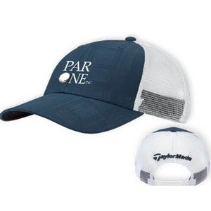 TaylorMade� Performance Front Hit Trucker Cap (Blue)